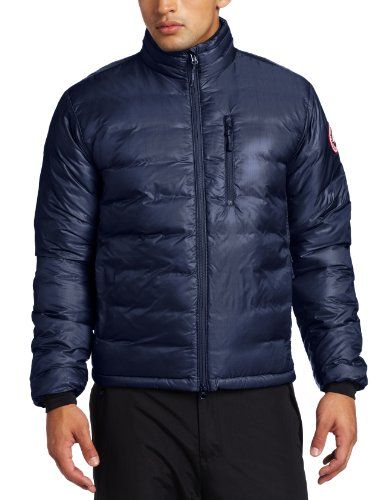 canada goose lodge jacket blue