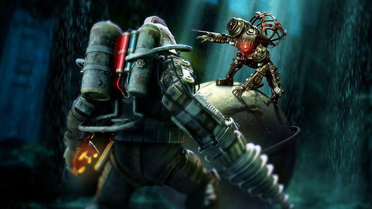Blurzie Underground Delta Vs Big Sister BioShock 2