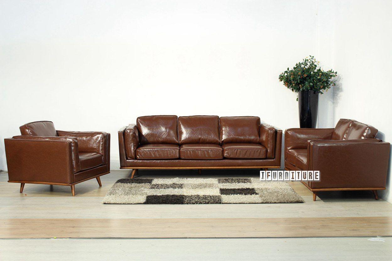 PANAMA 3+2+1 Sofa Range *Brown , Sofa & Ottoman, NZ's