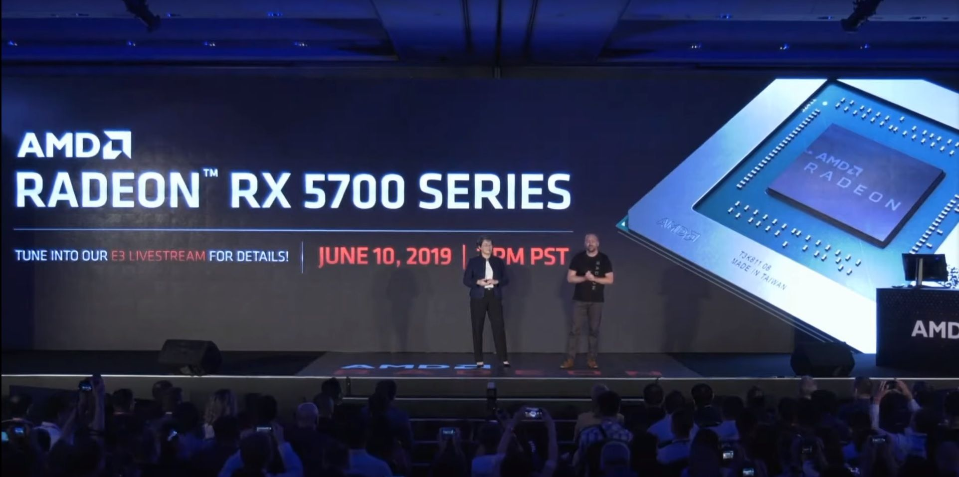 AMD's new Navi-based Radeon RX 5700 series graphics cards