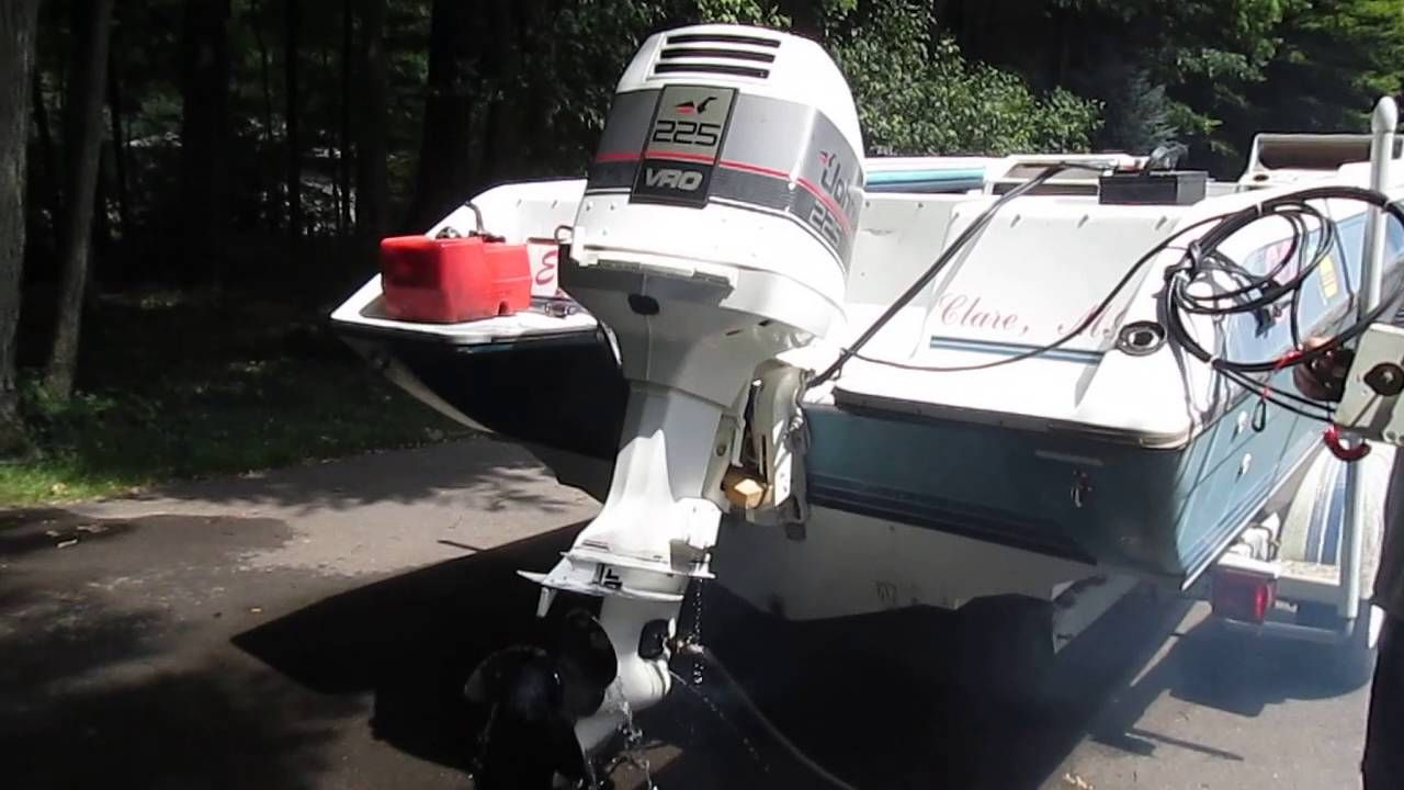 1988 Johnson V6 225hp VRO Outboard Motor Part II -- Parts for Sale VIDEO  showing