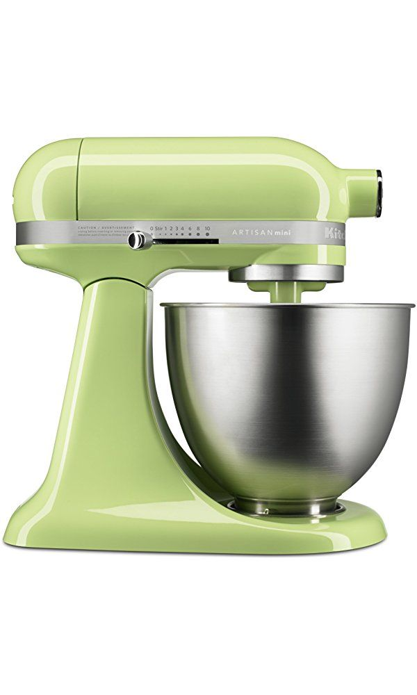 KitchenAid KSM3311XHW Artisan Mini Series Tilt-Head Stand Mixer, Honeydew, 3.5 quart Best Price