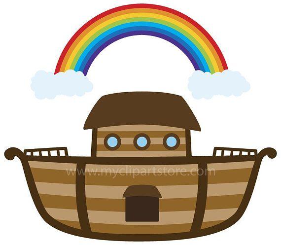 Noah's Ark Clipart Single, Fishing Boat, Raft, Bible