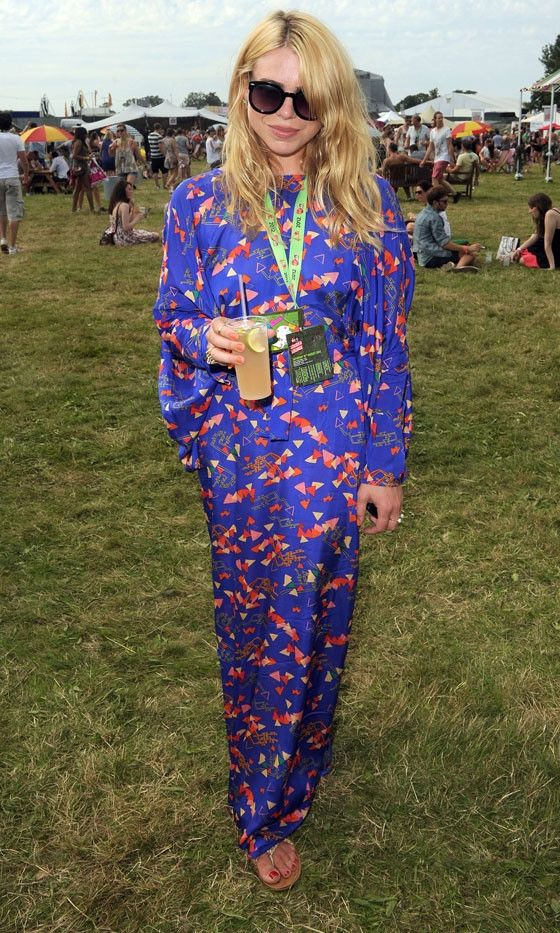 Billie Piper V Festival Fashion, Music festival