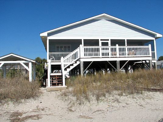 Edisto Realty Carolina Blue Beach Front Island Sc