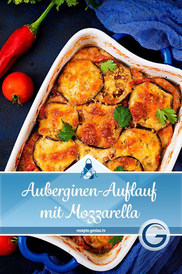 Photo of Auberginen-Auflauf mit Mozzarella