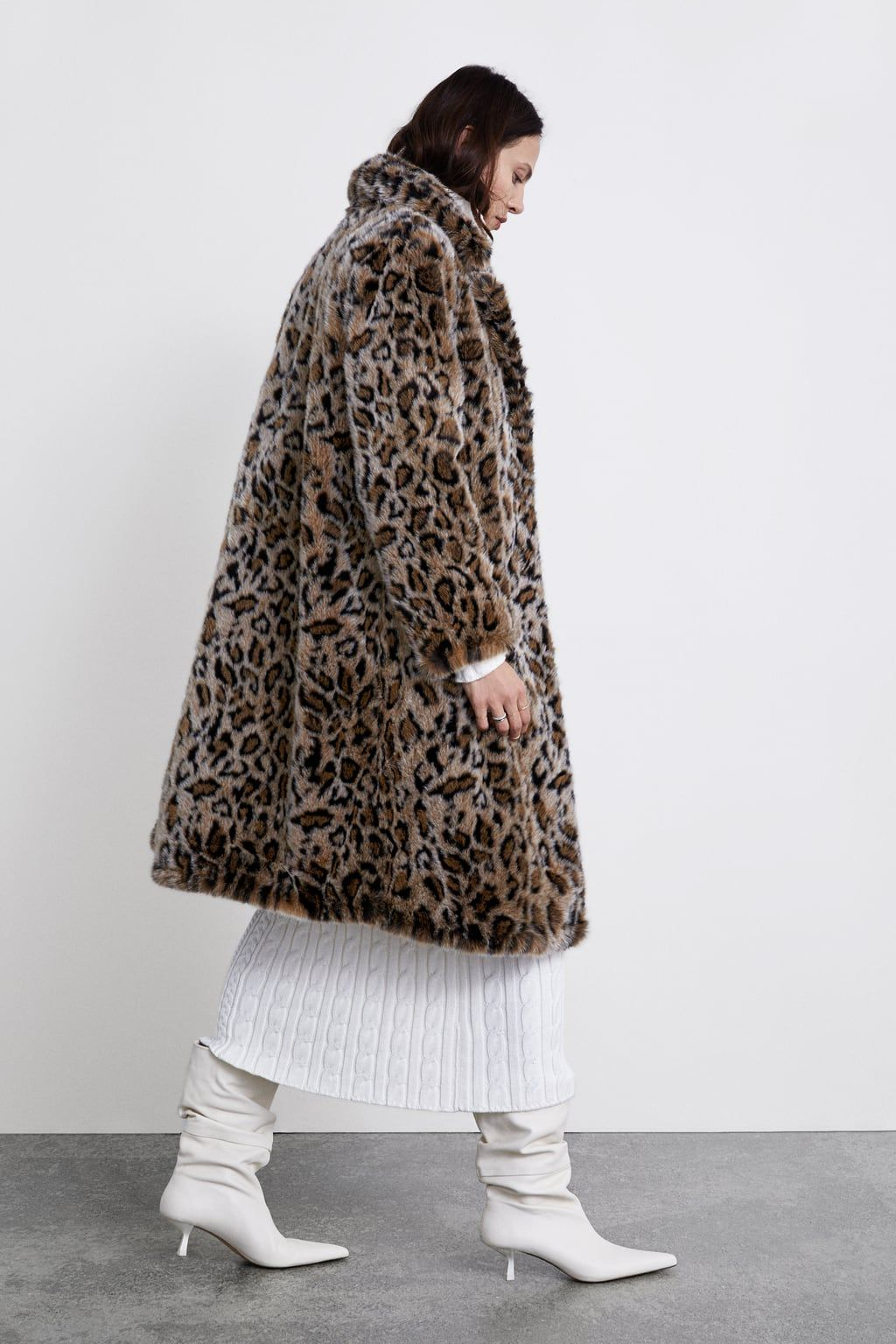 25766216 Image 3 of TEXTURED LEOPARD PRINT COAT from Zara | Autumn/Winter ...