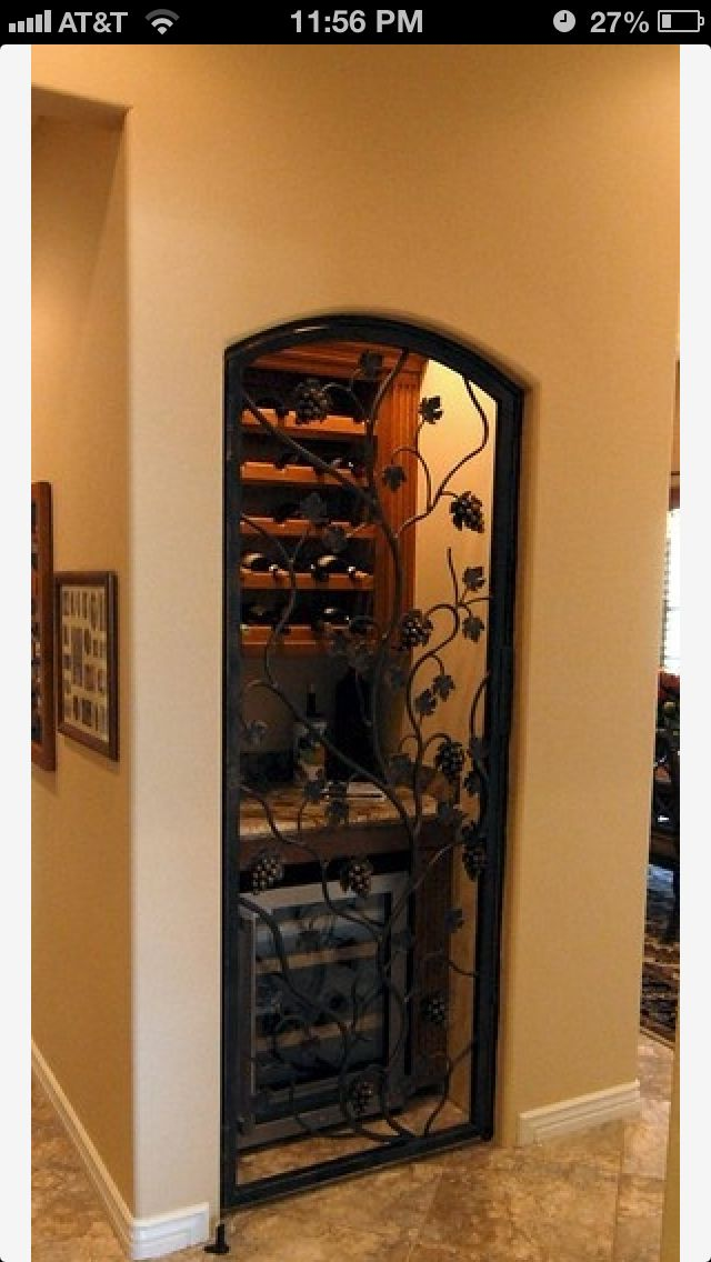 """I will be converting a closet in my new home to a """"wine closet"""". What a great idea!!!!"""