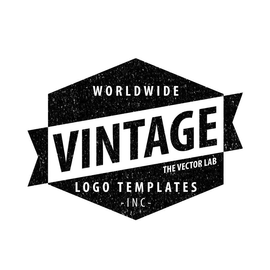 Logo Templates: Vintage Workwear | Logo templates, Photoshop and Logos