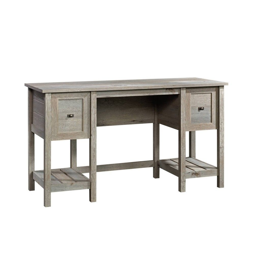Cottage Road Desk Mystic Oak Sauder Furniture Desk Sauder