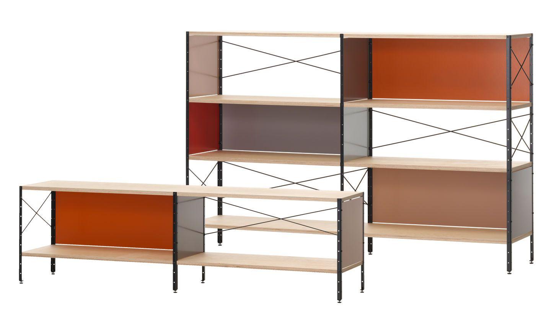 Eames Storage Unit ESU, Shelf Shelves, Vitra design, Eames