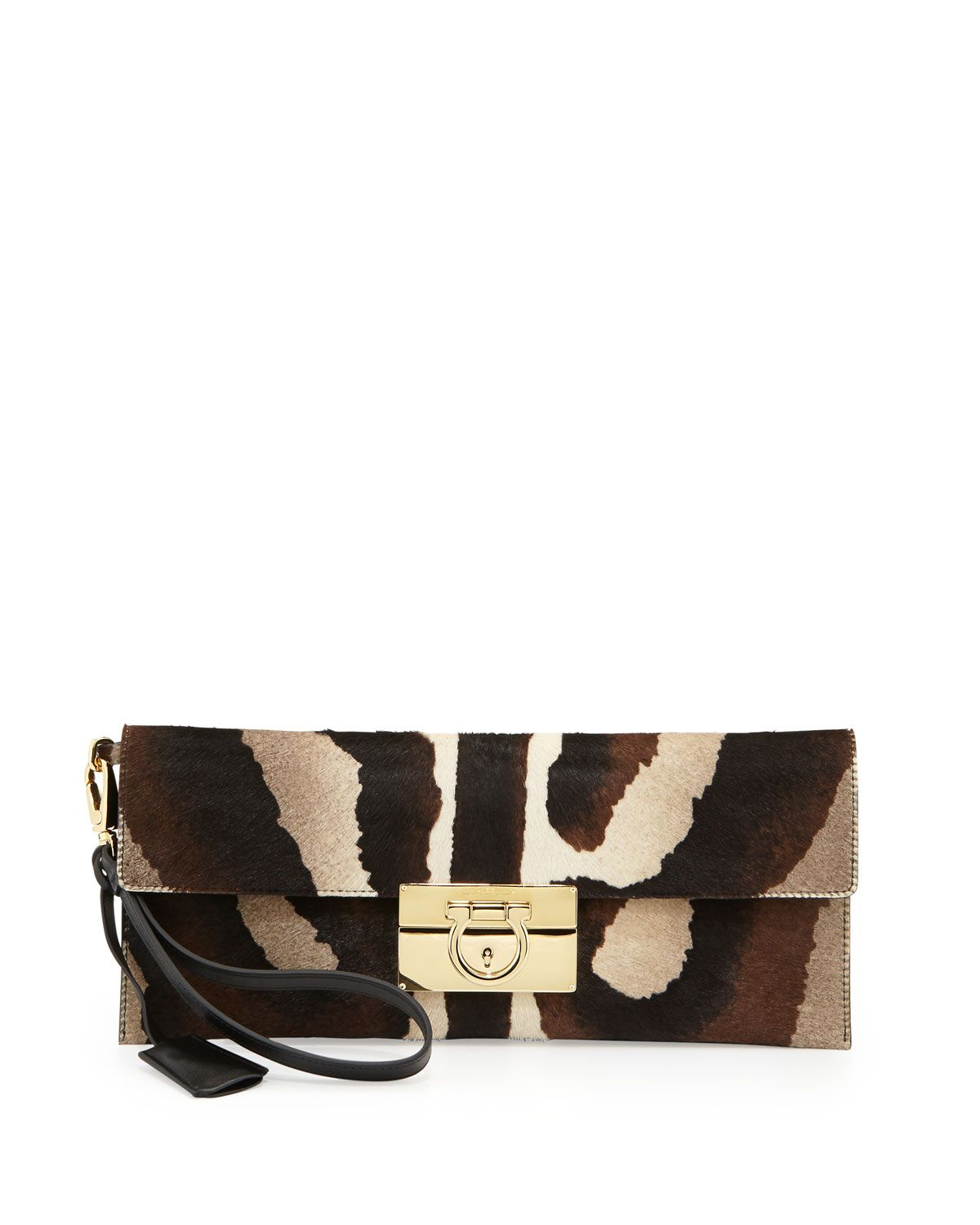 ca898e6d62d0 leopard print clutch. Salvatore Ferragamo Fall Handbags ...