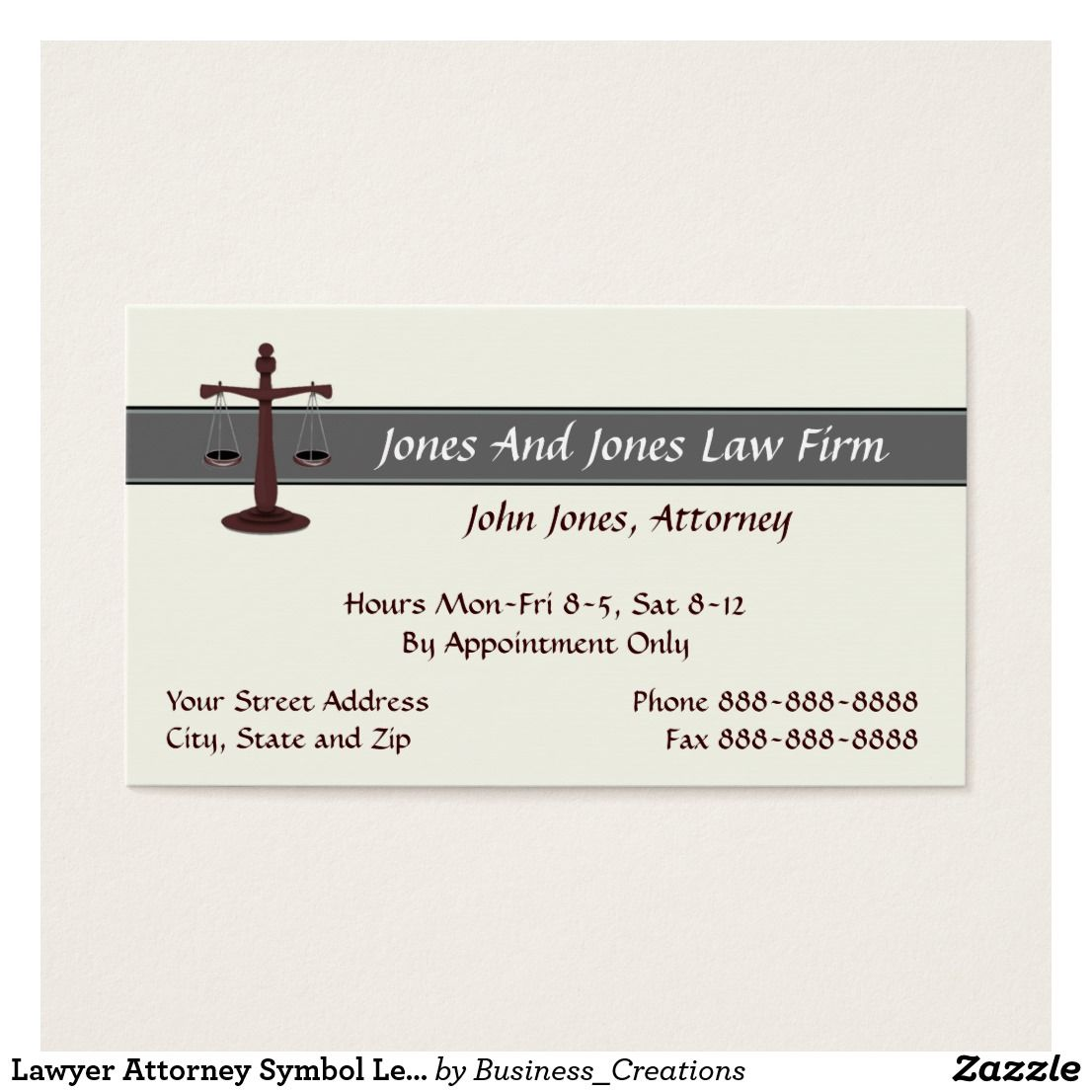 Lawyer Attorney Symbol Legal Business Card Legal Business And Symbols