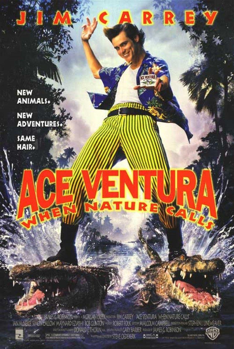 Ace Ventura When Nature Calls 1995 Ace ventura, 1995