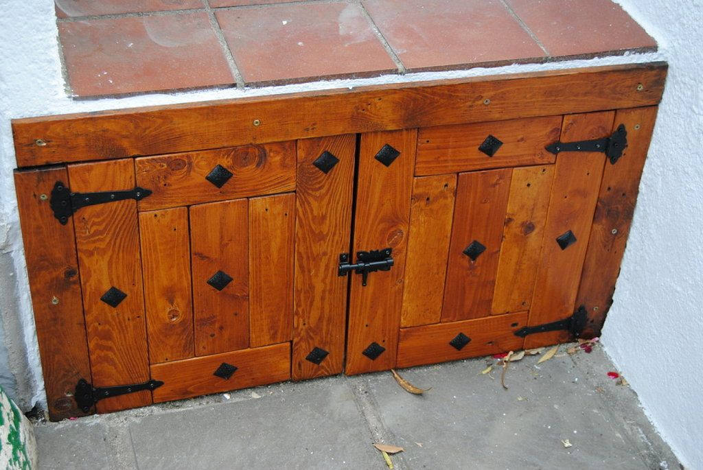 Planos puertas de parrillas de madera buscar con google for Mesas hechas con puertas de madera