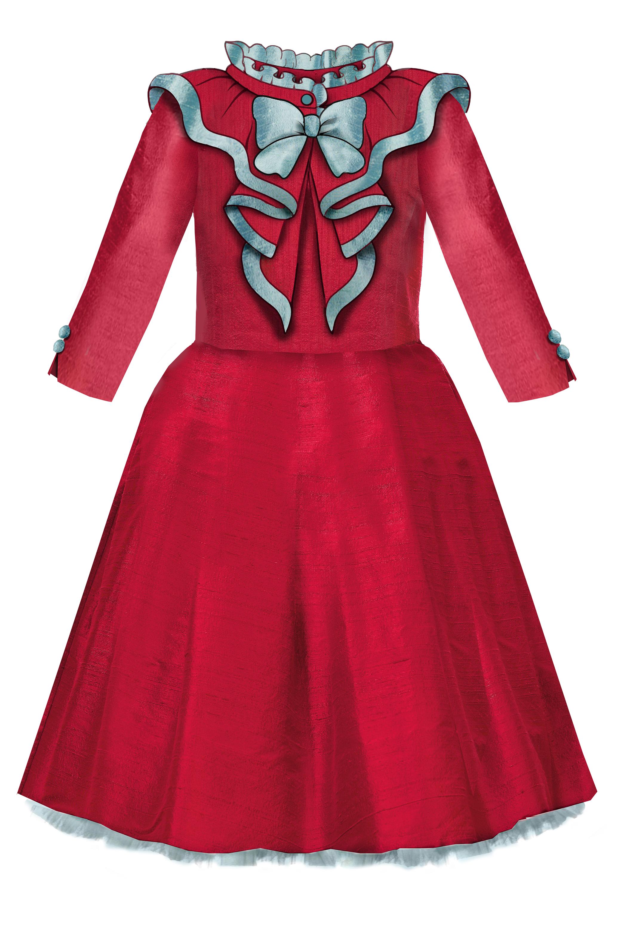 27a946ec396ae1 Elisabeth Flared Raw Silk Girls Dress with Detachable Collar | Lazy Francis  Autumn/Winter | Taffeta dress, Dresses, Silk Dress