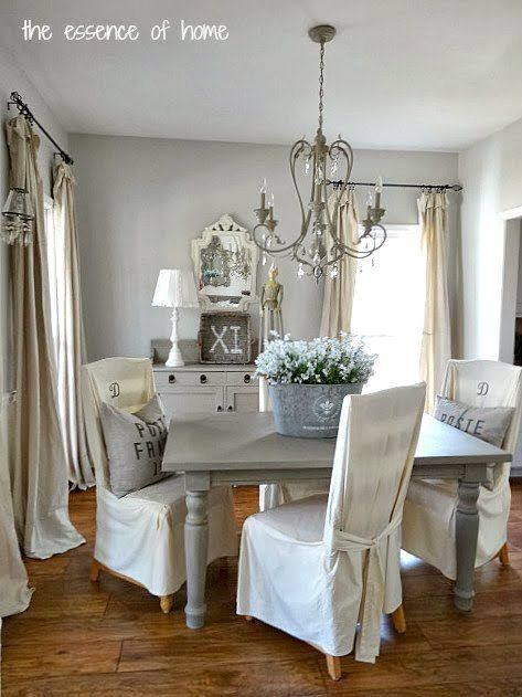 """Wall Color """"grey Owl""""bm Also Check Out """"fawn Brindle""""sw Custom Blue Green Dining Room 2018"""