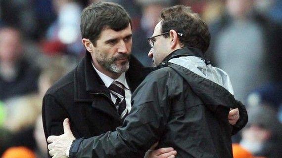 Martin O´Neill y Roy Keane