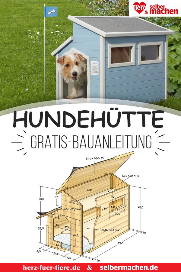 Hundehutte Selber Bauen Hier Geht S Zur Gratis Bauanleitung Hundehutte Selber Bauen Hundehutte Hundehaus Ideen
