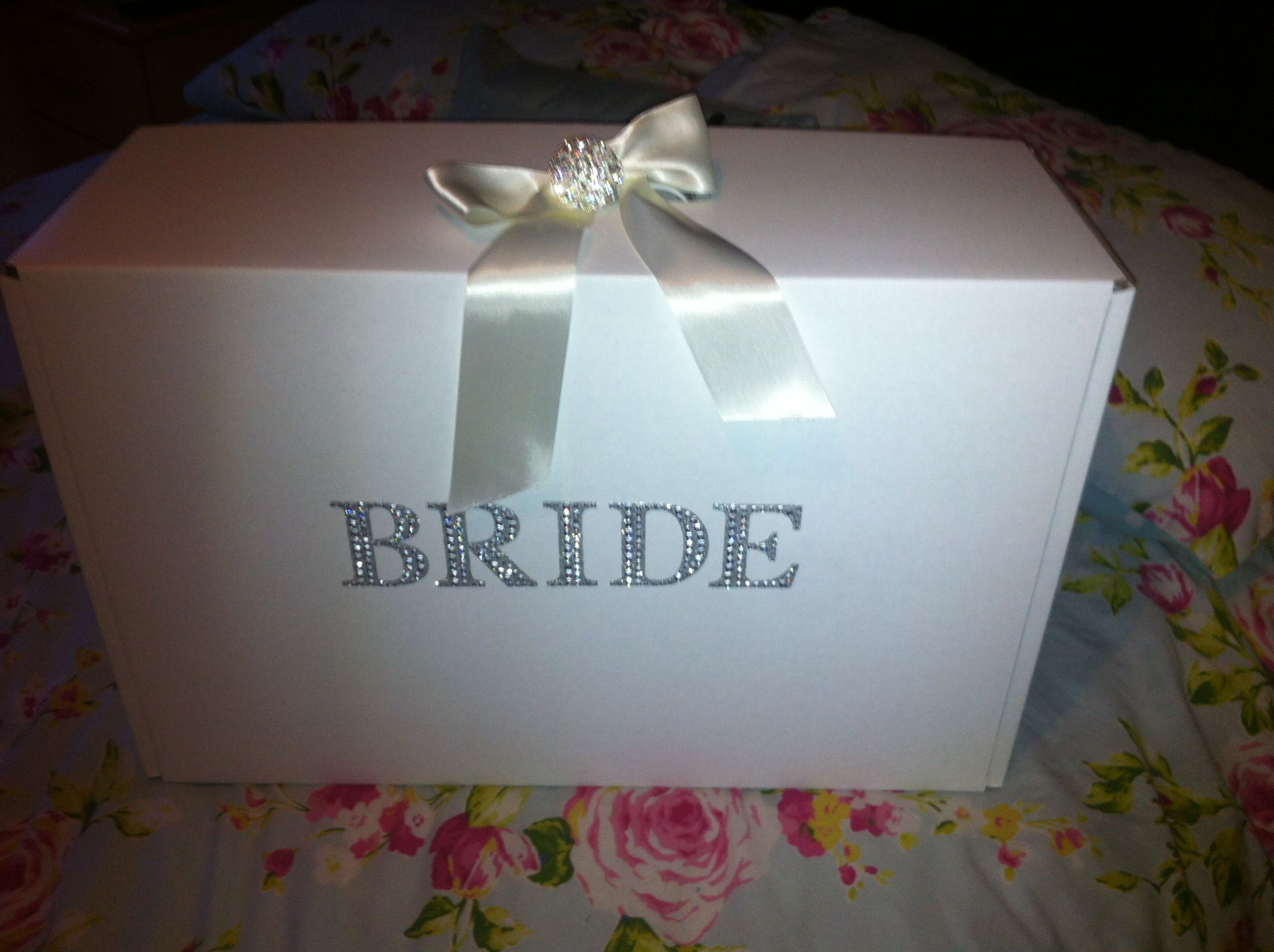 My Beautiful Wedding Dress Travel Box