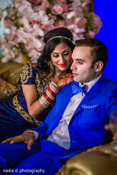 Mind blowing indian wedding portrait. http://www.maharaniweddings.com/gallery/photo/94832