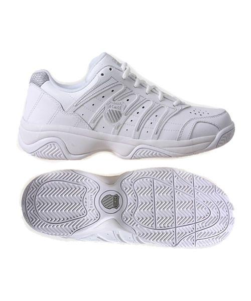 K Swiss Grancourt Ii Clay Blanca Zapatillas Calzas Padel