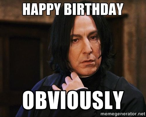 Snape Meme Obviously | My MEMES | What Is Harry Potter ...