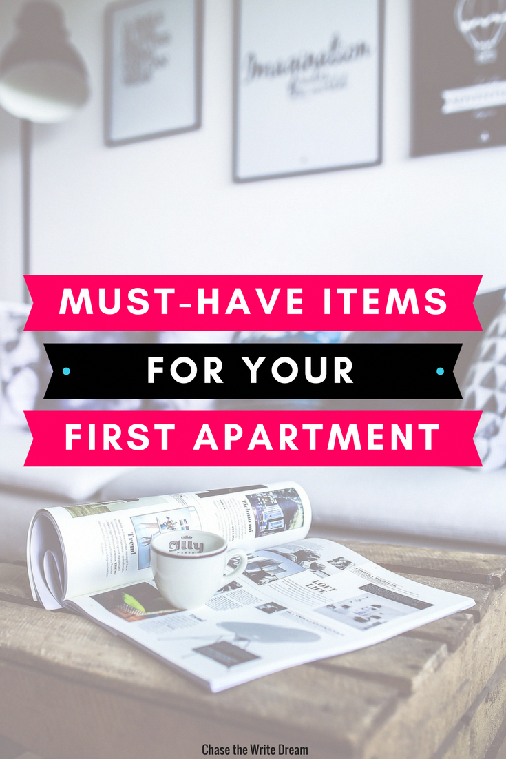 First Apartment Checklist And Ideas Must Haves For Your Place Living On Own The Time Make Sure To Get These Essentials