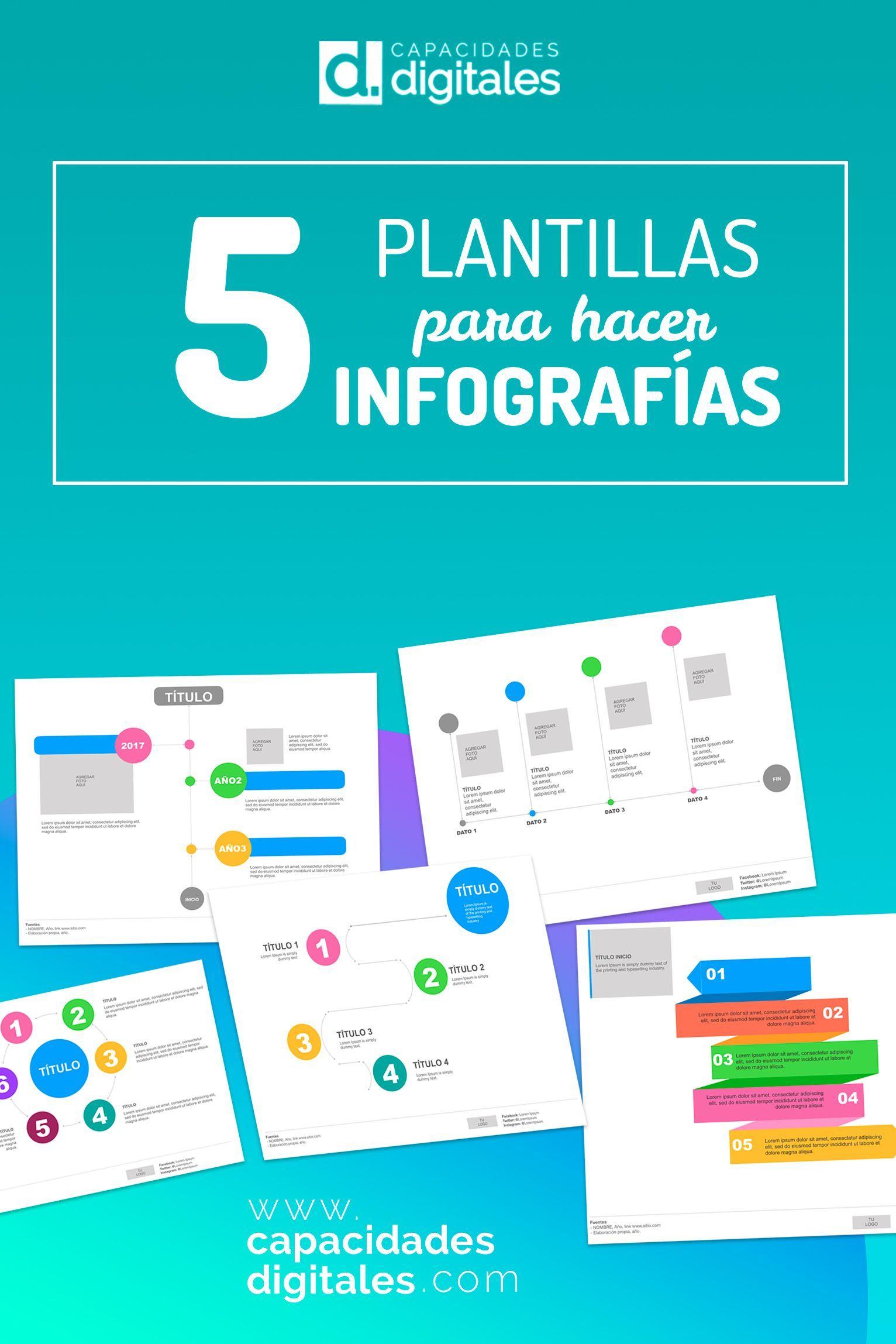No sabes cómo realizar una infografía? Descarga estas 5 prácticas ...