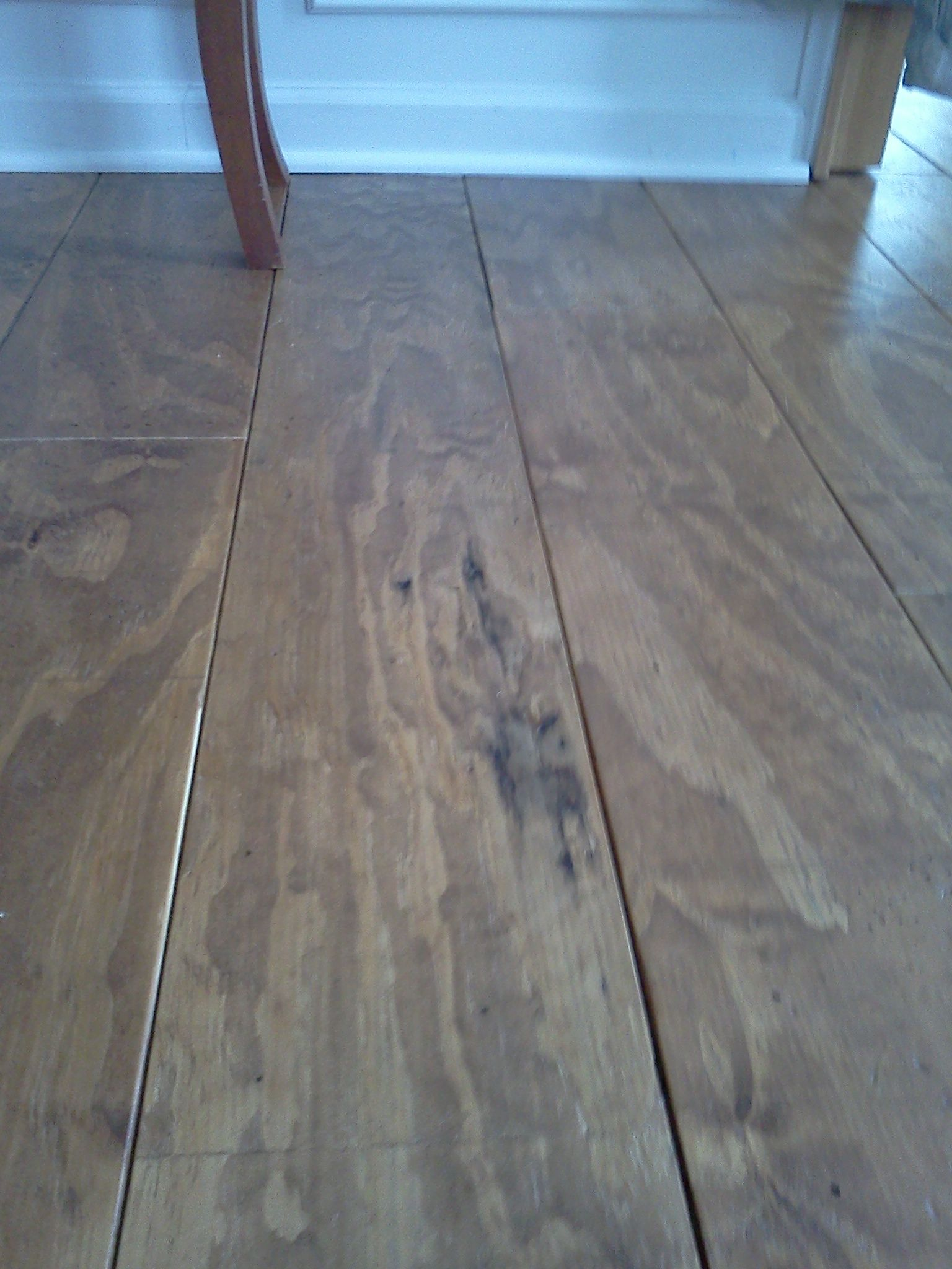 Wide Plank Distressed Pine Flooring