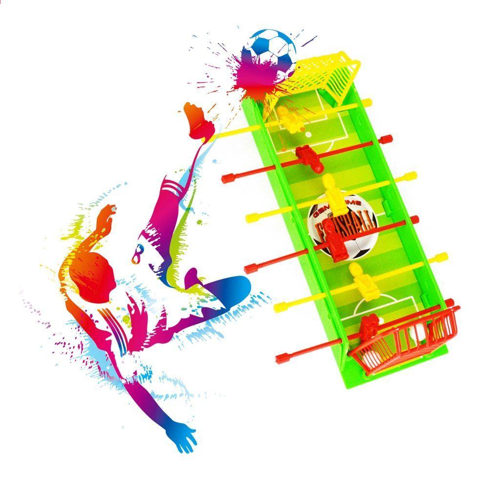 Juego De Baloncesto De Futbol De Mesa Juego De Aro De Baloncesto Toy