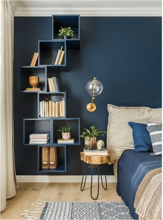 Stacked + Geometric Shelf Designs