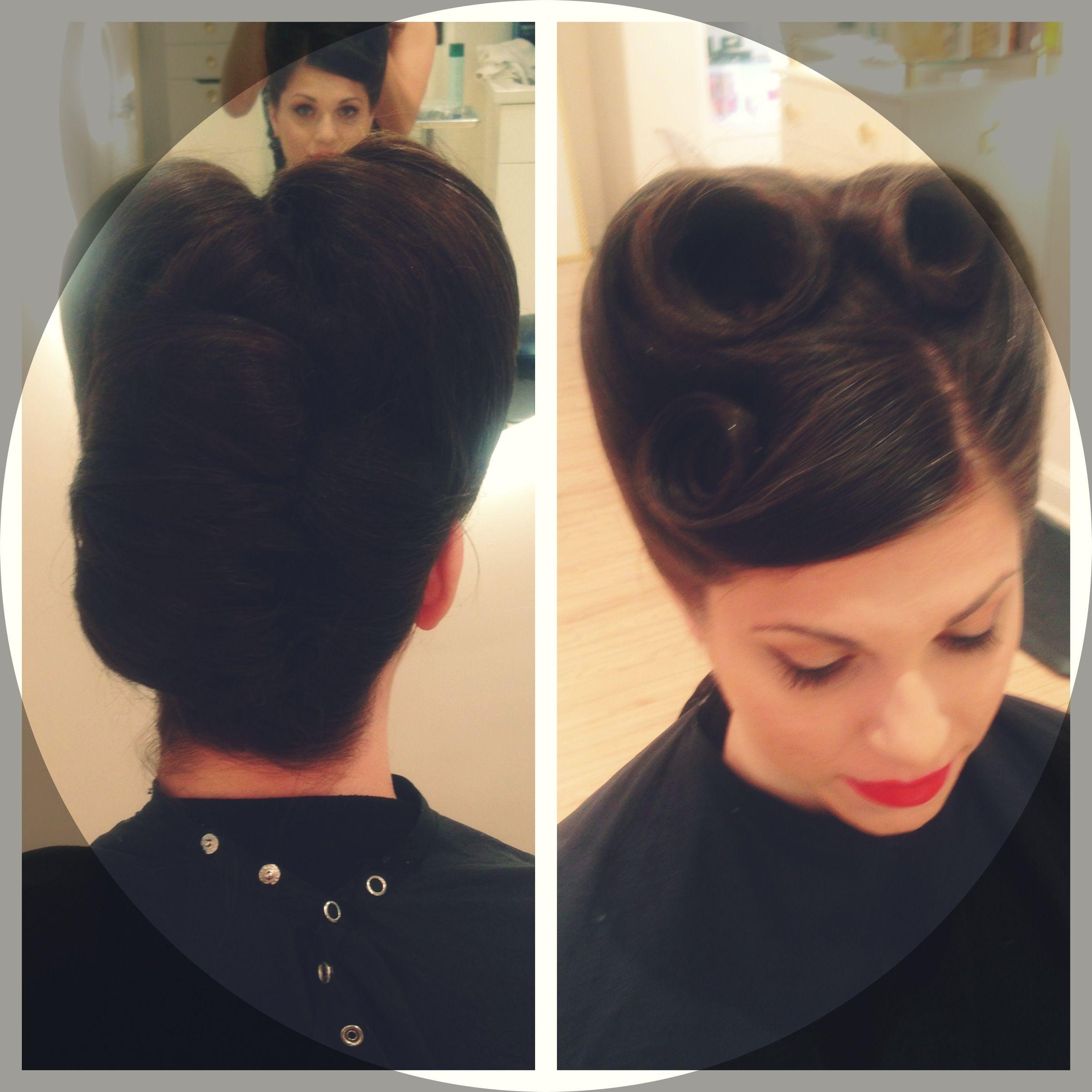 Rockabilly hairstyles hair pinterest rockabilly vintage hair