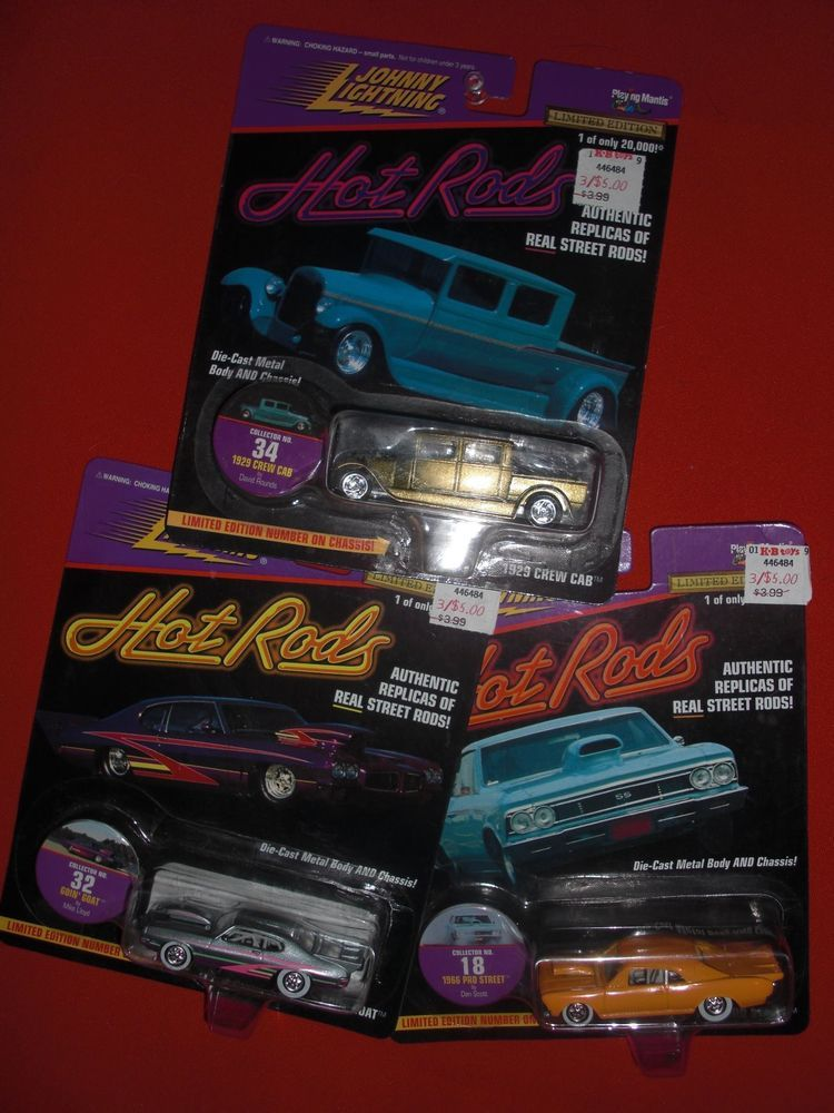 JOHNNY LIGHTNING HOT RODS SERIES 1/64 for sale now on ebay,, very ...