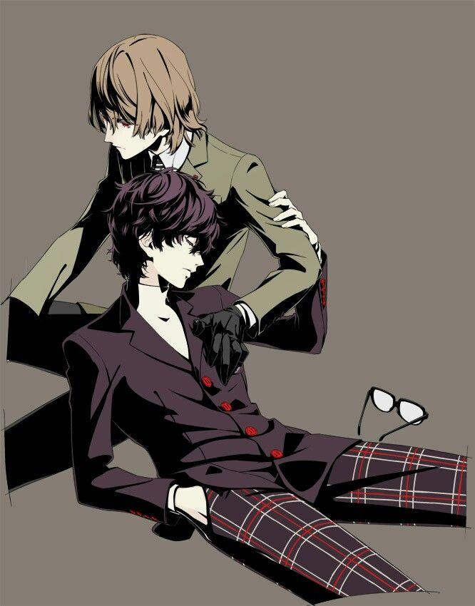 Persona 5 Goro Akechi X Akira Kurusu Persona 5 Anime Persona 5 Goro Persona 5