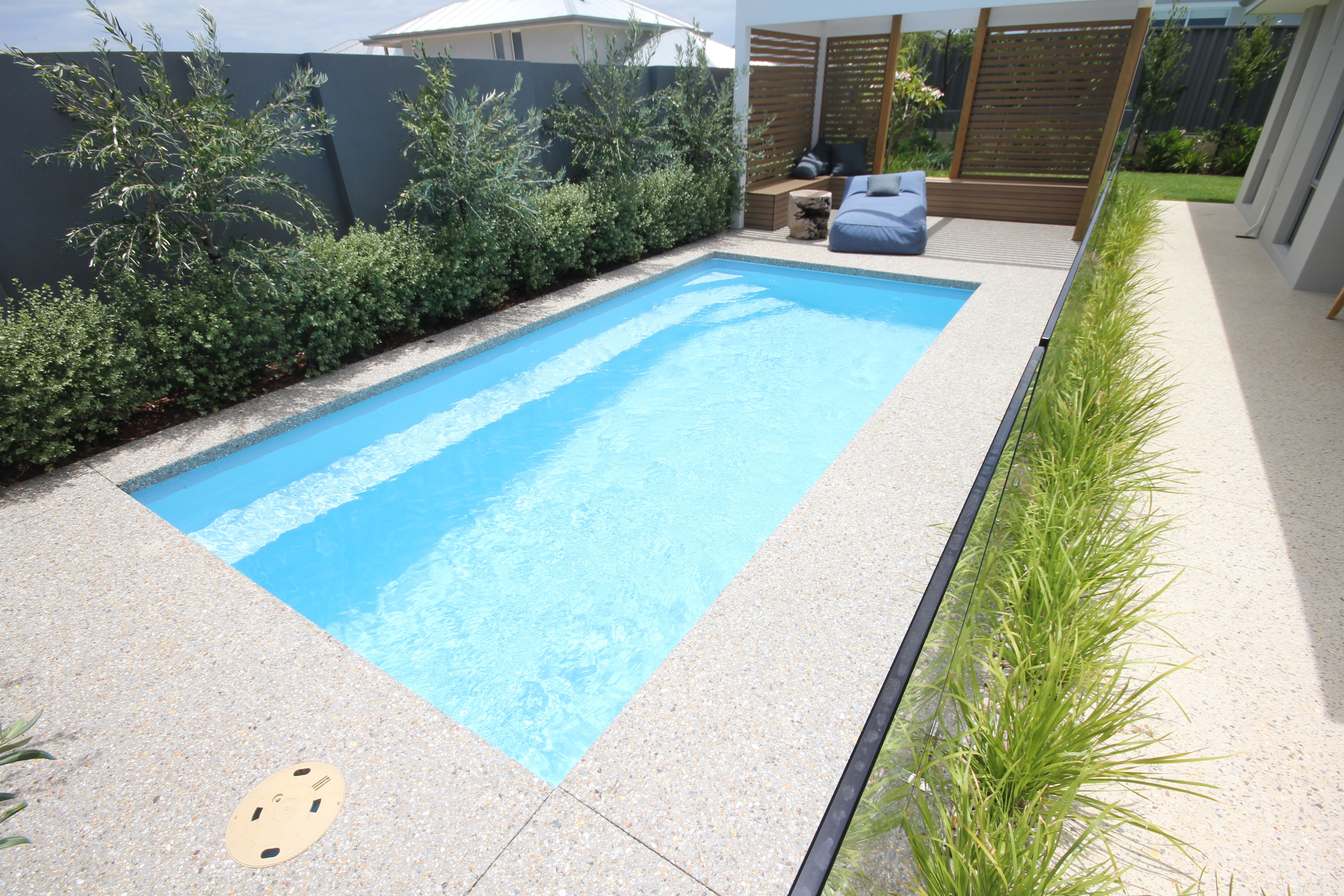 Empire 6m X 3m Swimming Pool Landscaping Swimming Pools Small Backyard Pools