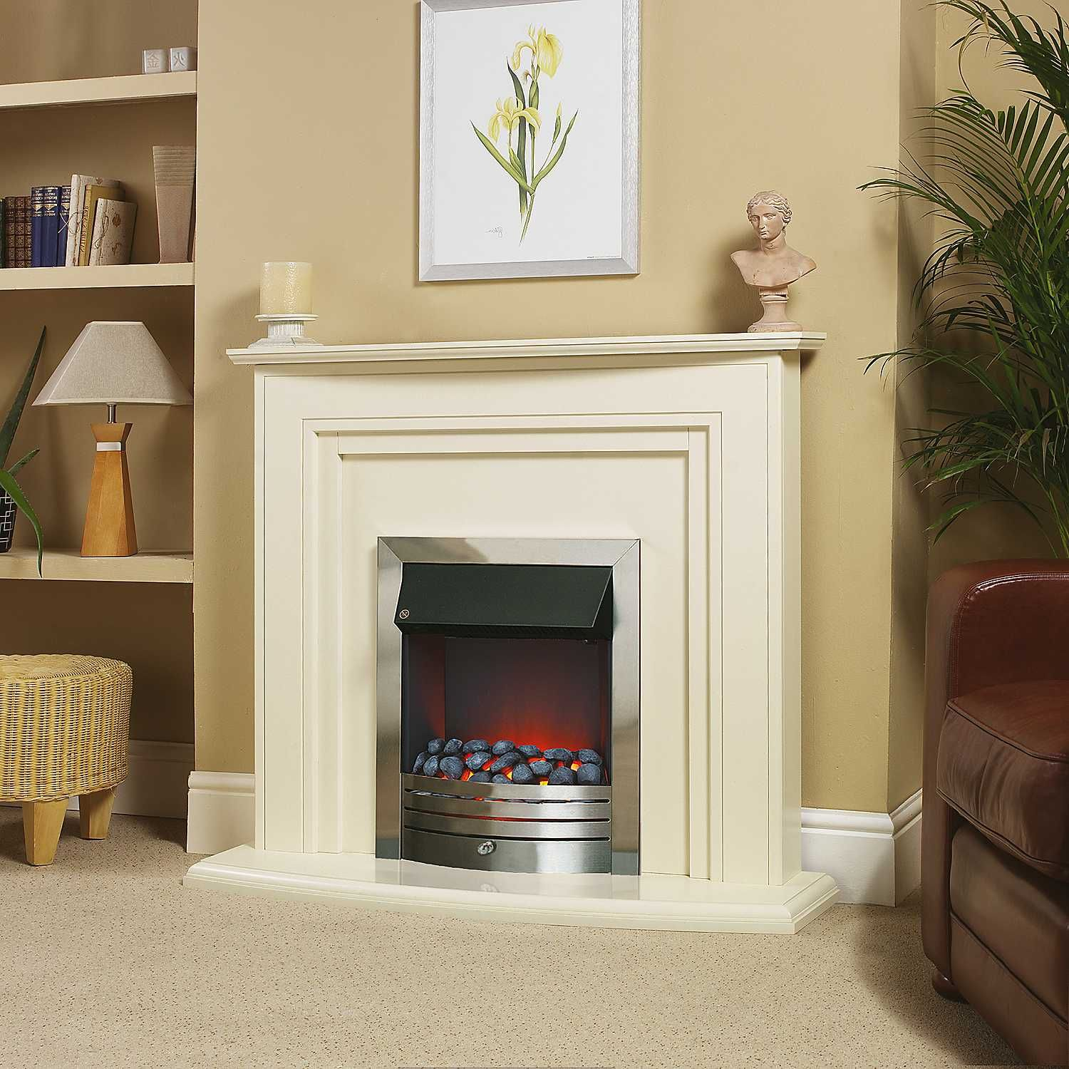 Stove Fires For Living Room