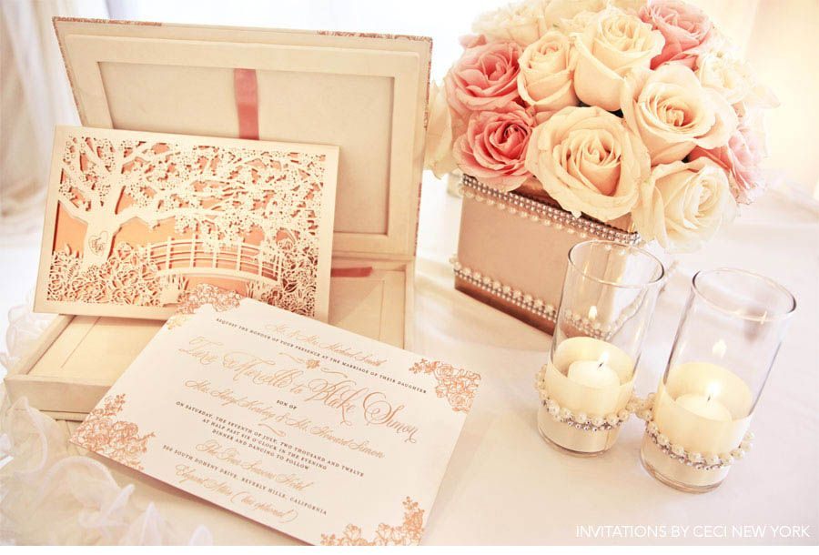 our muse cecistyle ceci new york romantic wedding invitation 900x610