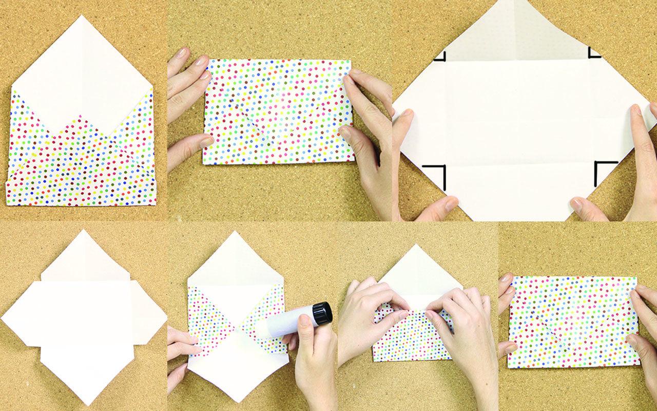 en este tutorial te ense amos paso a paso c mo hacer On como hacer sobres de papel paso a paso
