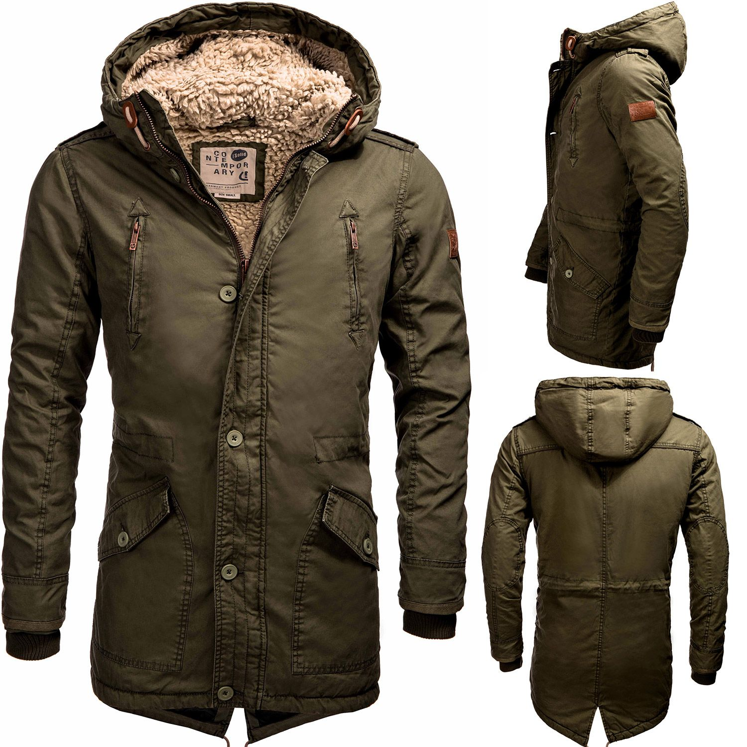 Parka mantel manner