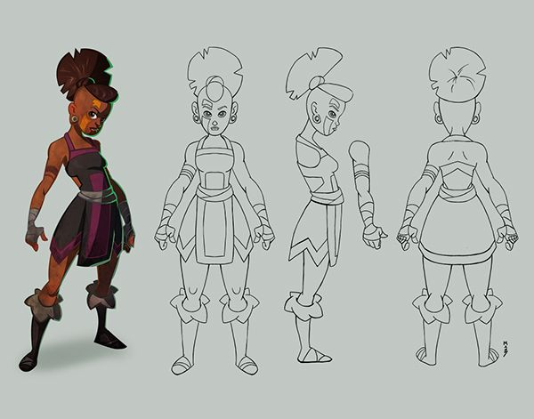 Character Turnaround Character Design Character Model