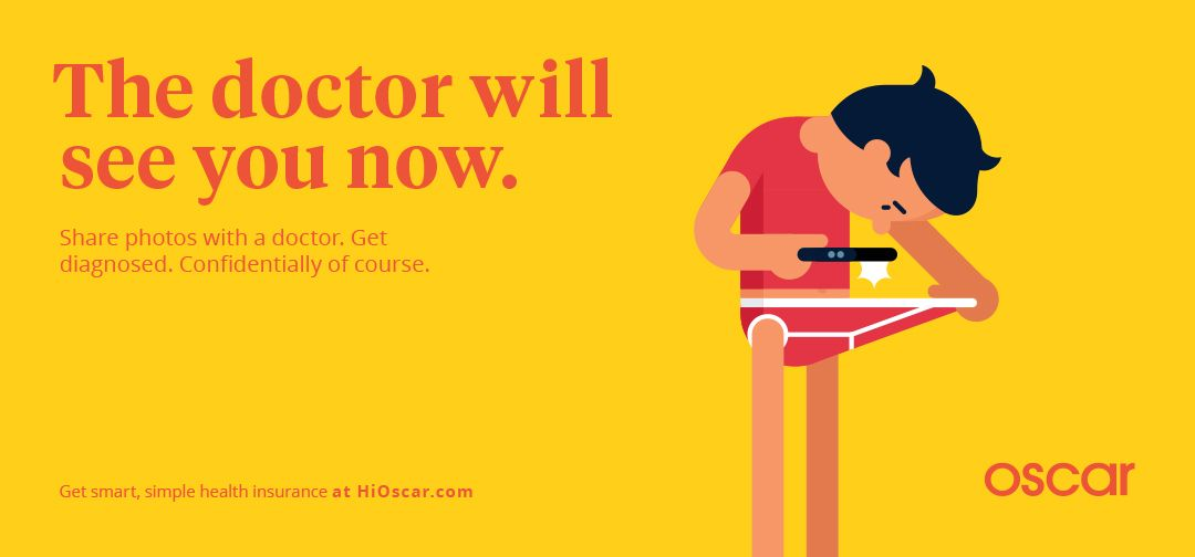 Image Result For Oscar Subway Ads Health Insurance Healthcare Ads Healthcare Advertising