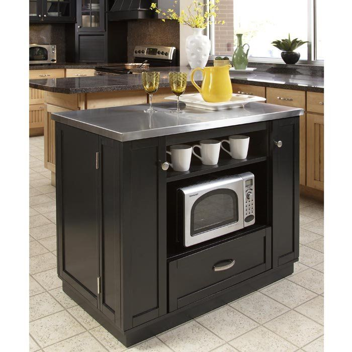 top kitchen islands stainless steel top kitchen island 2 | Kitchen ...