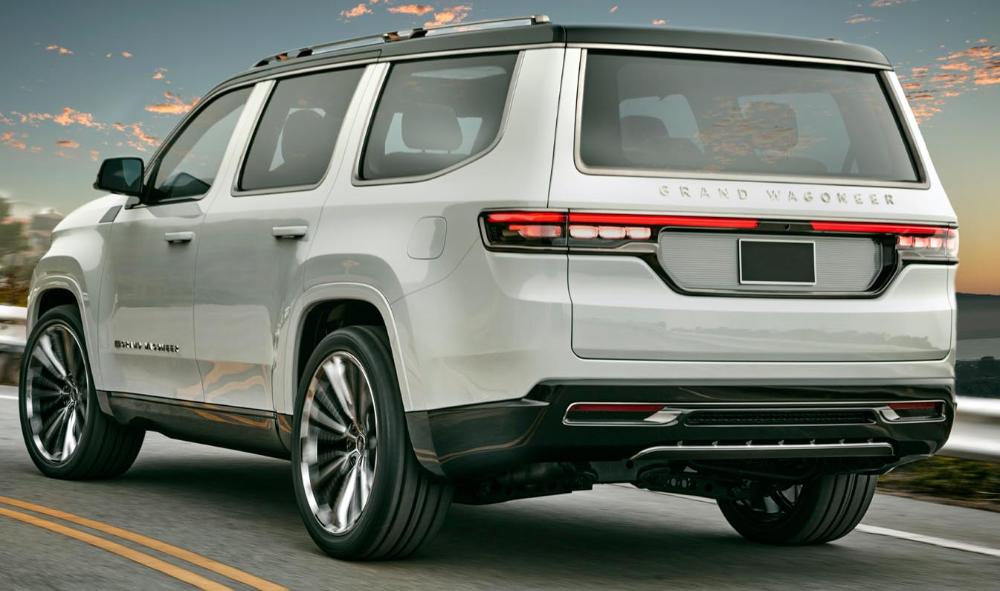 جيب غراند واغينير كونسبت 2021 الجديدة تماما العائلية الكبيرة الأميركية الأصيلة تعود من جديد موقع ويلز Jeep Grand Jeep New Jeep Wagoneer