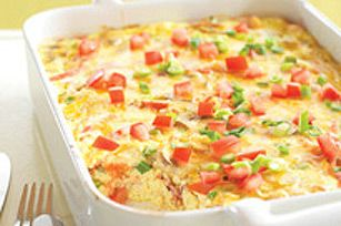 crustless bacon cheese quiche