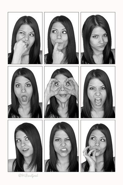 Modeling facial expressions
