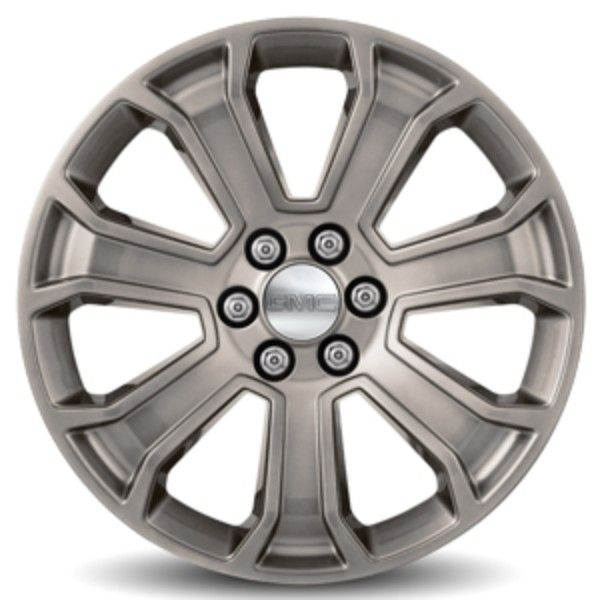 Yukon Denali Xl 22 Inch Wheels 7 Spoke Silver Ck163 Sfi