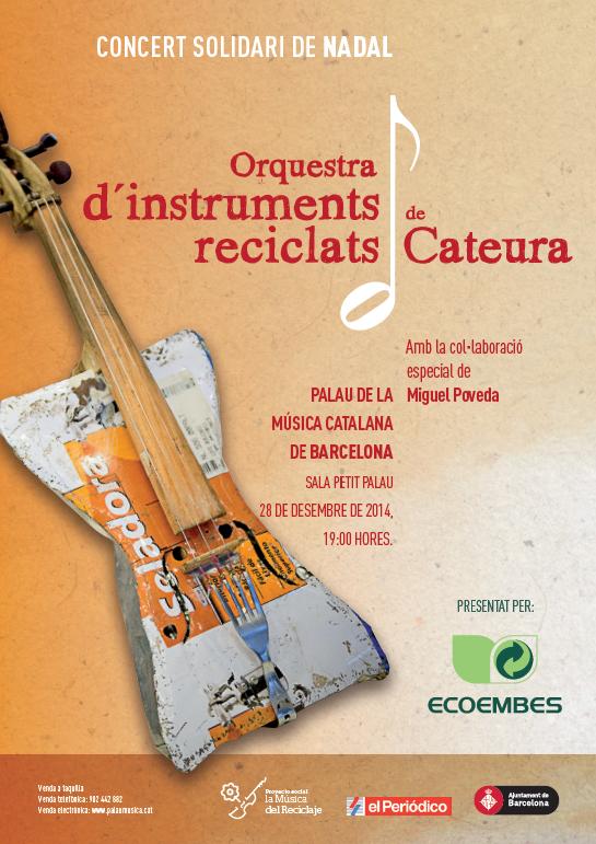 Ecoembes Presenta Orquesta Instrumentos Instrumento Musical Reciclado