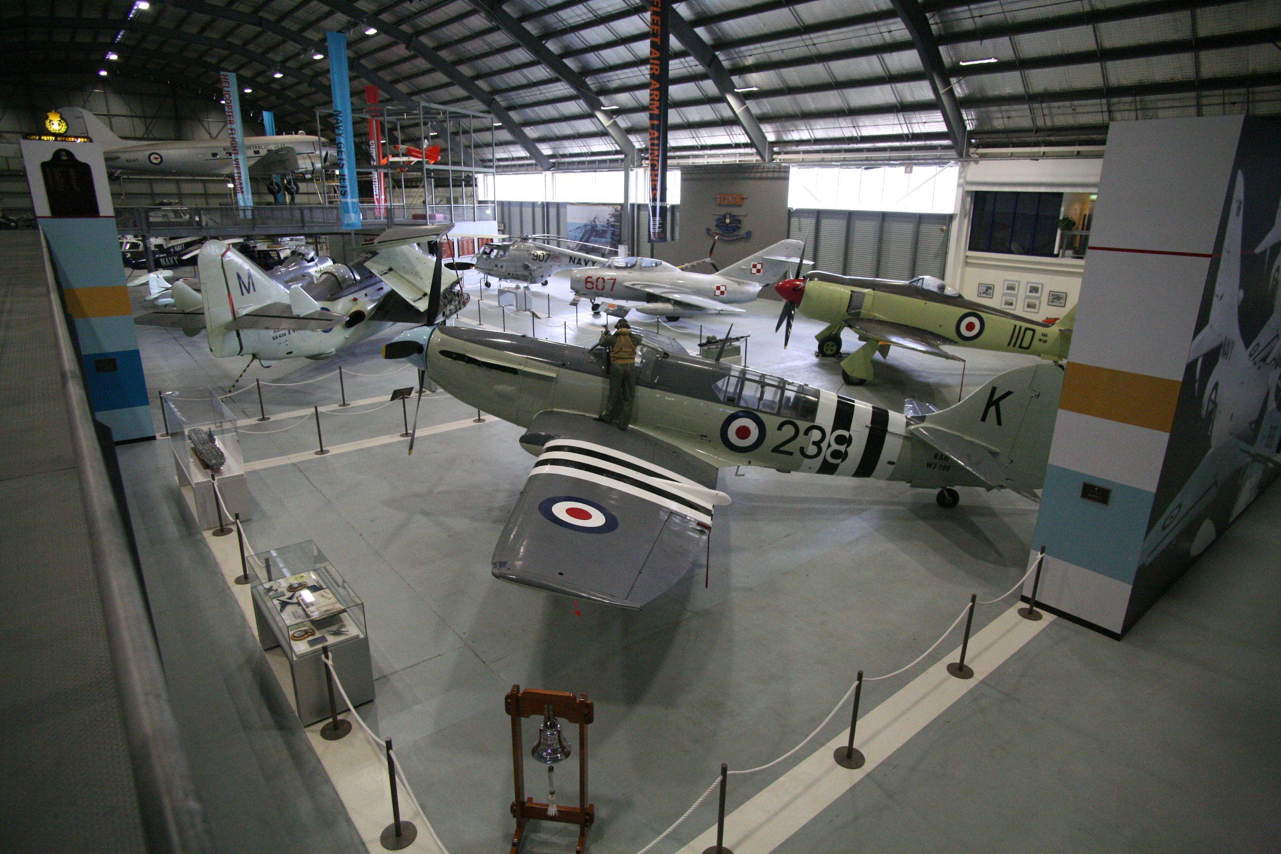 Former Royal Australian Navy Fairey Firefly at the