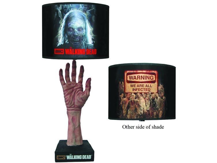 THE WALKING DEAD Zombie Hand Lamp   Geek Decor #TheWalkingDead #Zombies